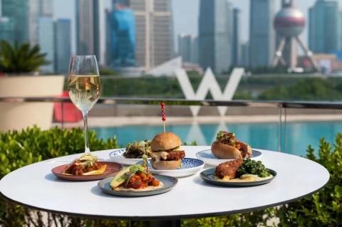 """上海外滩W酒店:乐聚早午餐2.0,""""绿""""出新意思"""