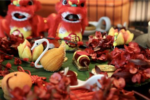 重庆来福士洲际酒店:新春美食礼遇